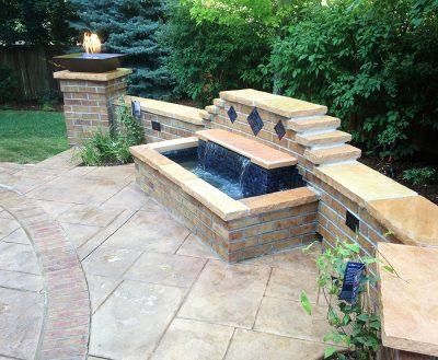 Backyard Patio Fountain