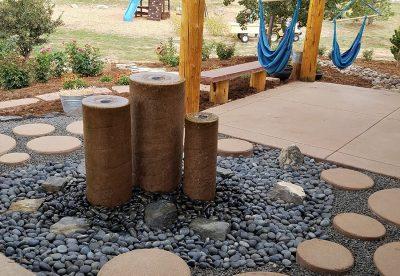 Cylinder Water Feature Denver