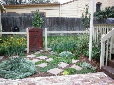 Backyard Stone Pavers