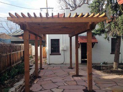Denver Pergola Backyard