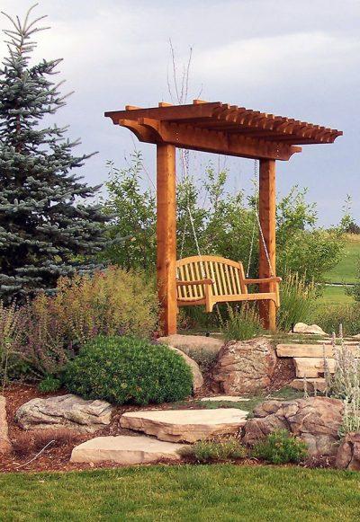 Denver Arbor with Swing