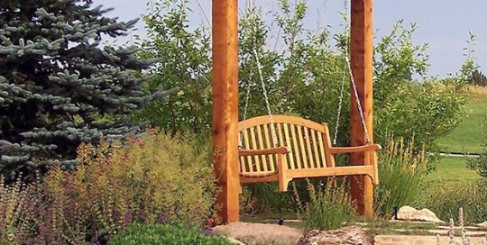 Denver Arbor with Swing