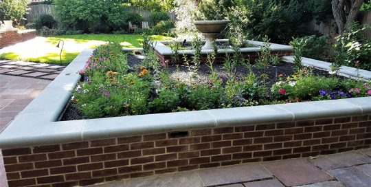 Flowerbed Wall