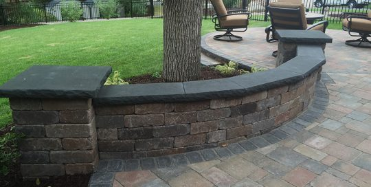 Residential Landscape Wall